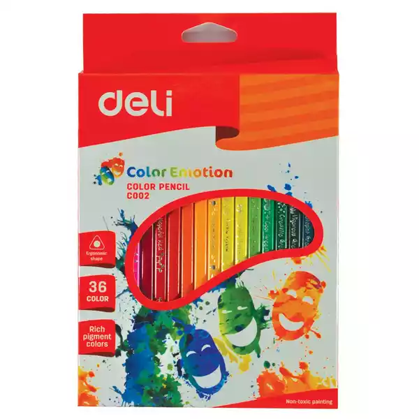 Deli Colour Pencils (EC00230) (36pcs)