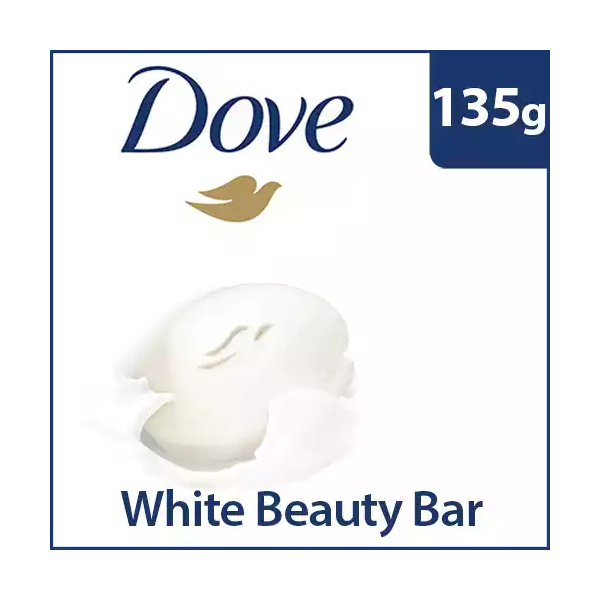 Dove Beauty Bar White (135 gm)