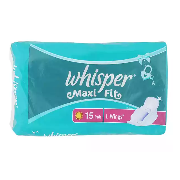 B1 Whisper Maxi Fit  (15 Pads)