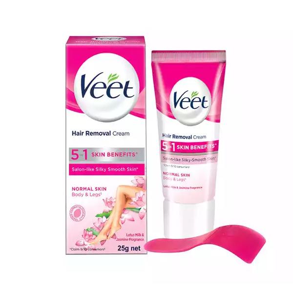 Veet Hair Removal Cream for Normal Skin  (25 gm)