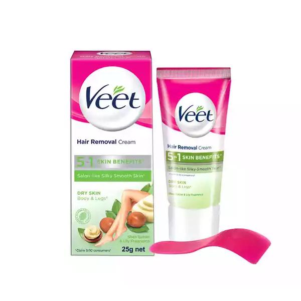 Veet Hair Removal Cream for Dry Skin  (25 gm)