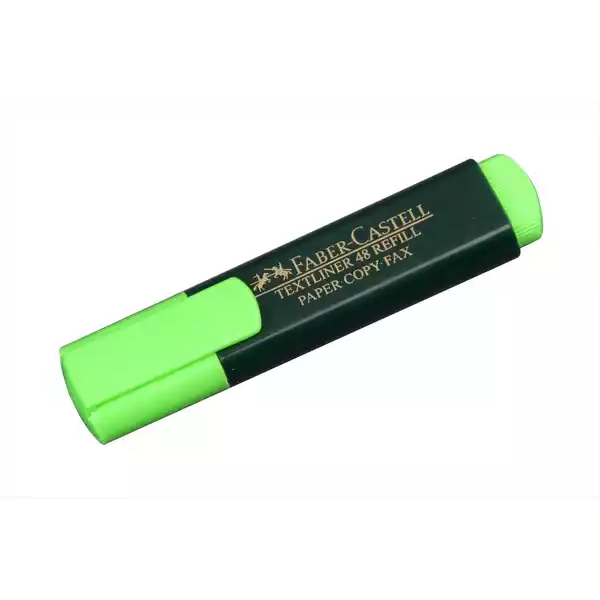 Faber Castell Highlighter Marker Green (1pcs)