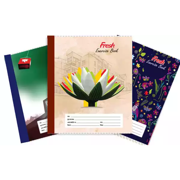 Fresh Standard Large Bangla (204 Pages) (1pcs)