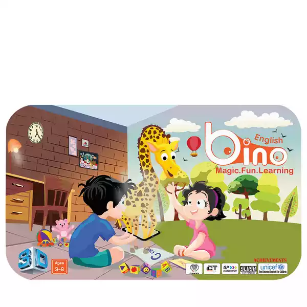 Bino 3D Adventurous English Book (1pcs)
