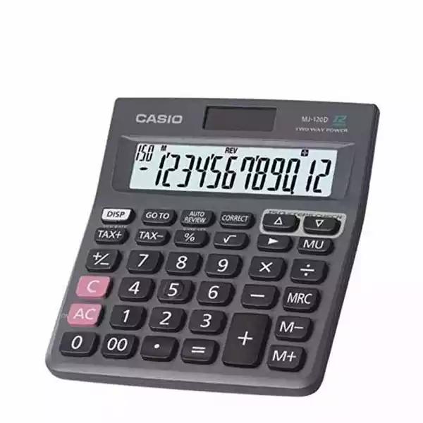 Casio Calculator 12 Digit (MJ-120 D) (1pcs)