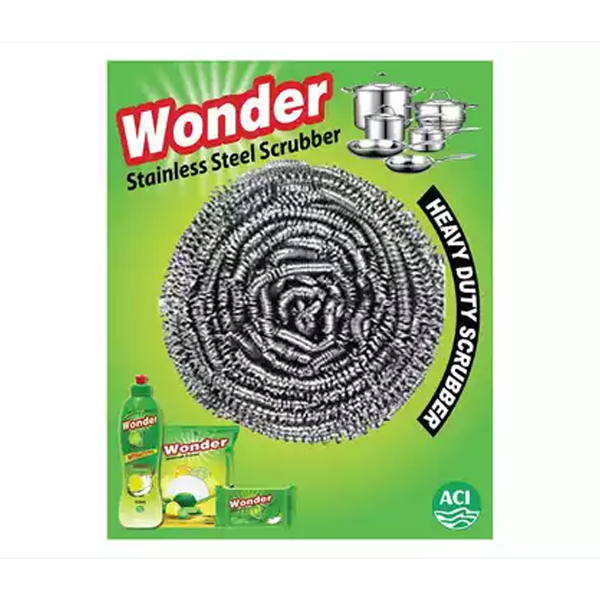 ACI Wonder Stainless Steel Scrubber (1pcs)