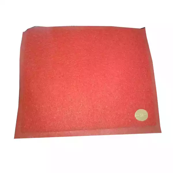 "Plastic Floor Trapper Mat Red 23""x15"" (China) (1pcs)"