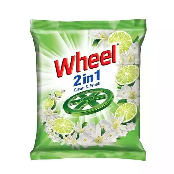 Wheel Washing Powder 2in1 Clean & Fresh (500 gm)