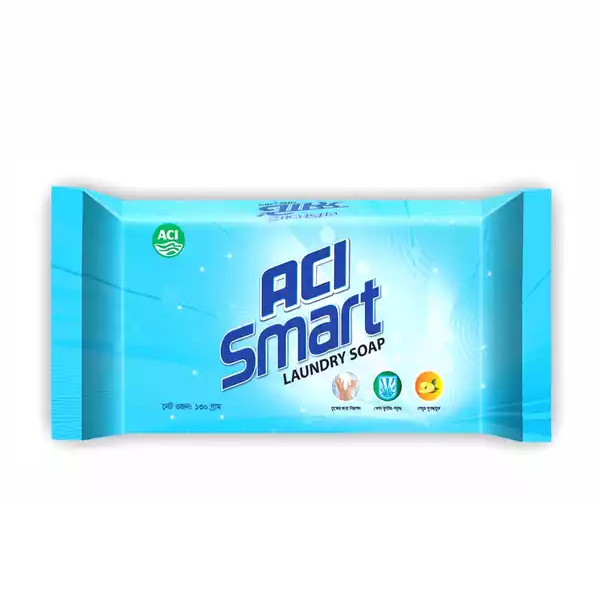 ACI Smart Laundry Soap (130 gm)