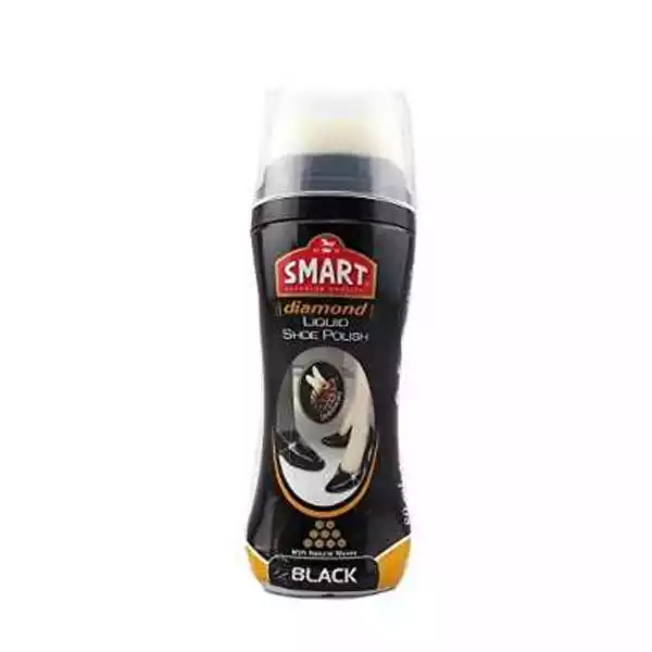Smart Diamond Liquid Shoe Polish (Black) (75ml)