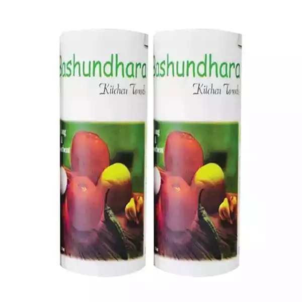 Bashundhara Kitchen Towel (2 Rolls)