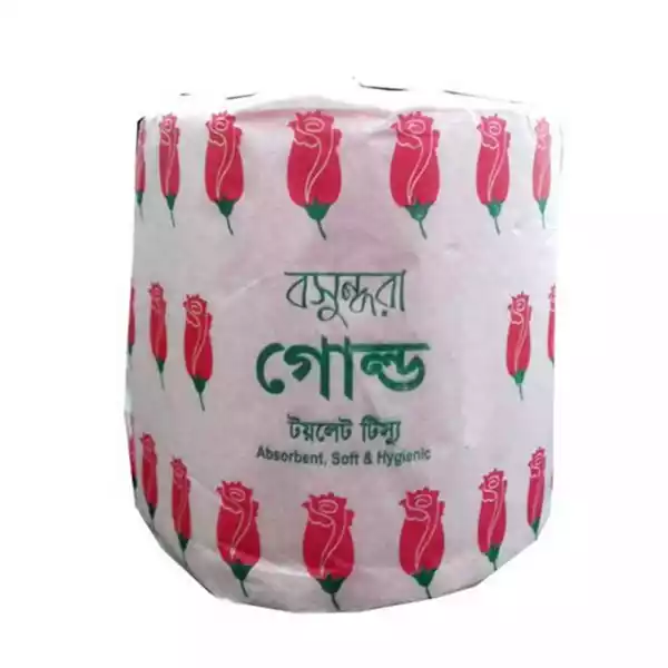 Bashundhara Gold Toilet Tissue (1 pc)