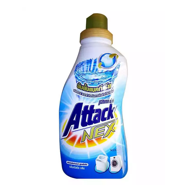 Attack Nex Liquid Detergent Clean & Protect (900 ml)