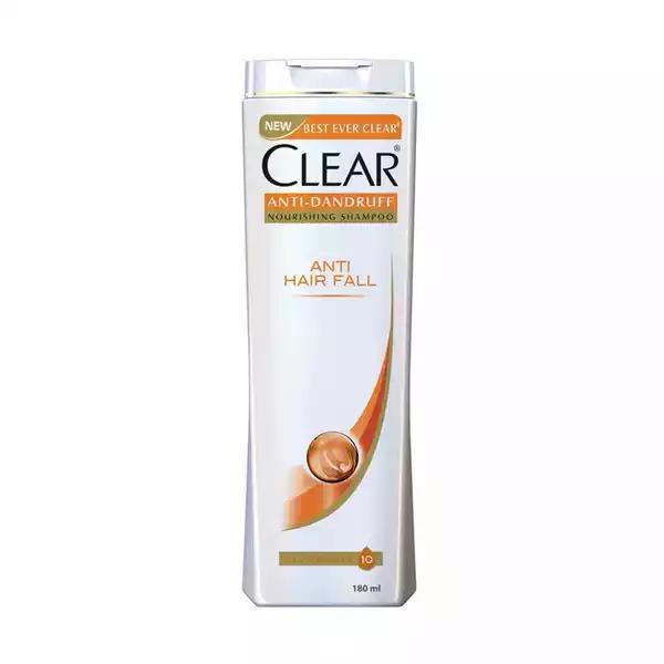 Clear Anti Hairfall Anti Dandruff Shampoo  (180 ml)