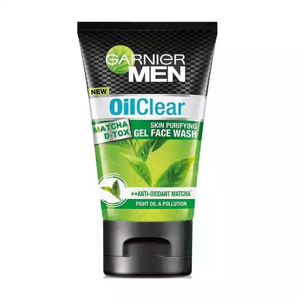Garnier Men Oil Clear Gel Face Wash (100 gm)