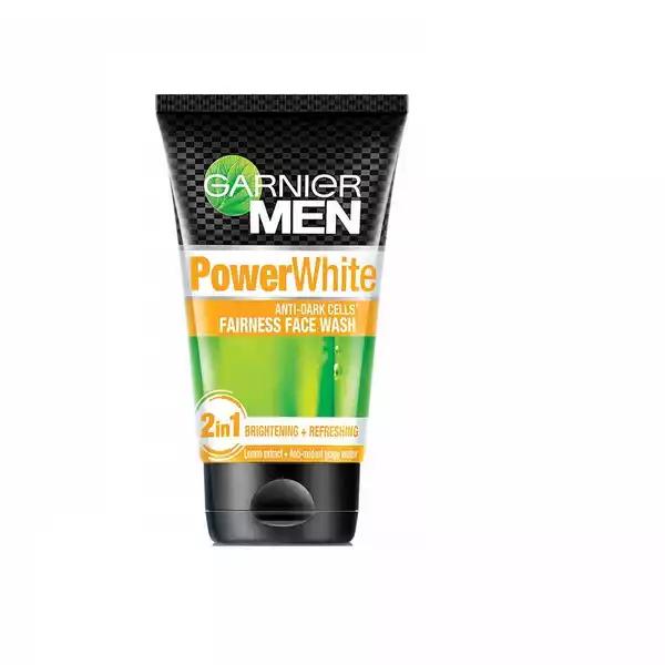 Garnier Men Power White Fairness Face Wash (100 gm)