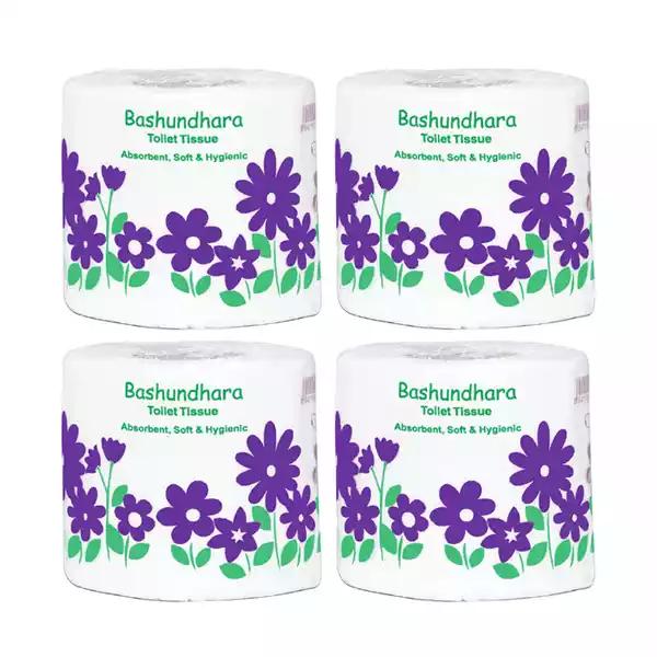 Bashundhara Toilet Tissue (4 pcs)