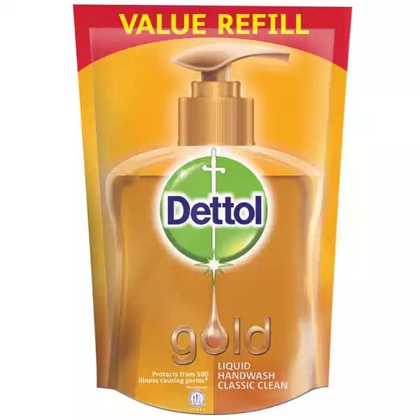 Dettol Handwash Gold Liquid Soap Refill (170 ml)
