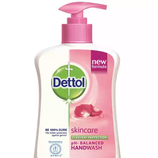 Dettol Handwash Skincare Liquid Soap Pump (200 ml)