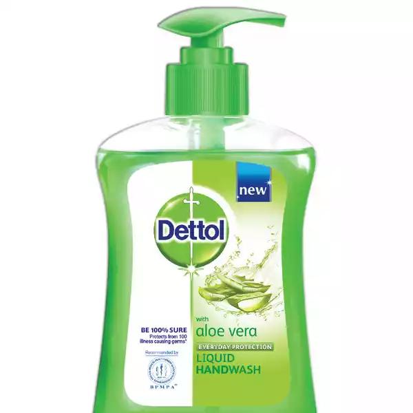 Dettol Handwash Aloe Vera Liquid Soap Pump (200 ml)