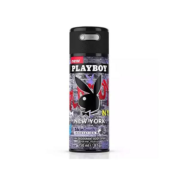 Playboy New York 24h Deodorant Body Spray (150 ml)