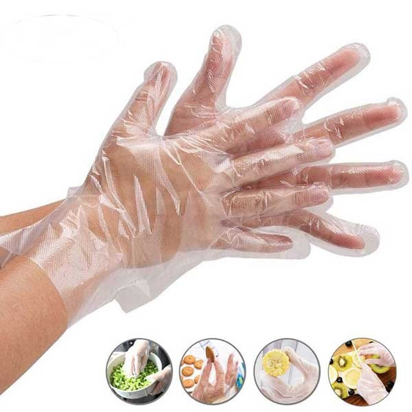 Hand Gloves Poly (100 PCS)