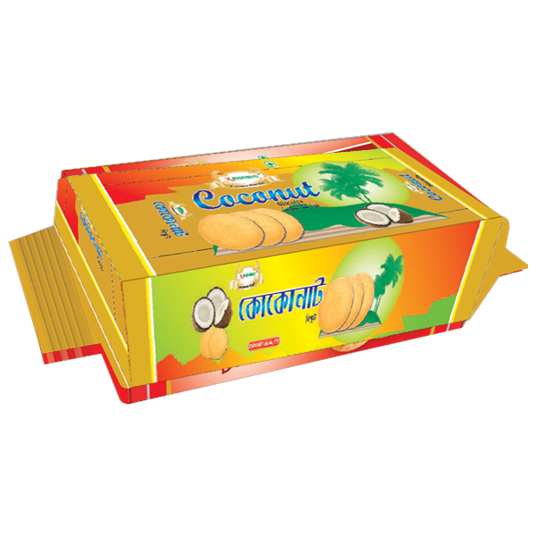 Krishibid Coconut Biscuit  (300gm)