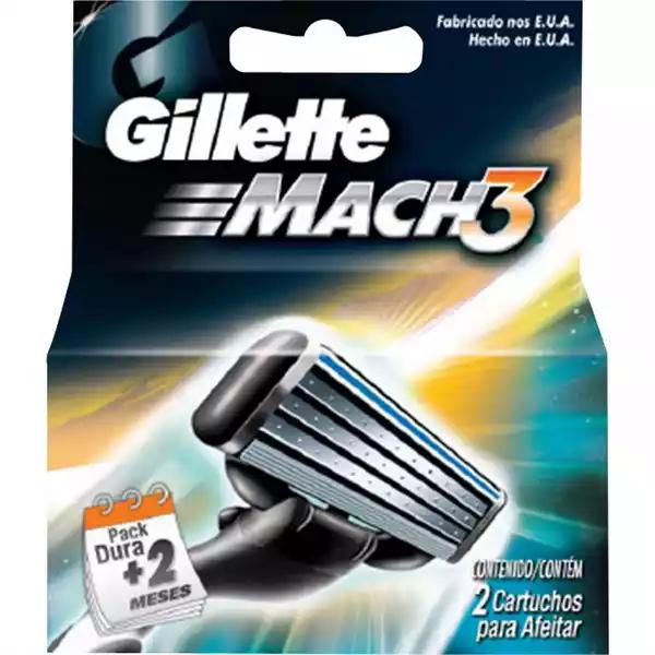 Gillette Mach 3 Blade (2 pcs)