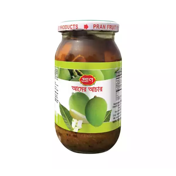 PRAN Mango Pickle  (400 gm)