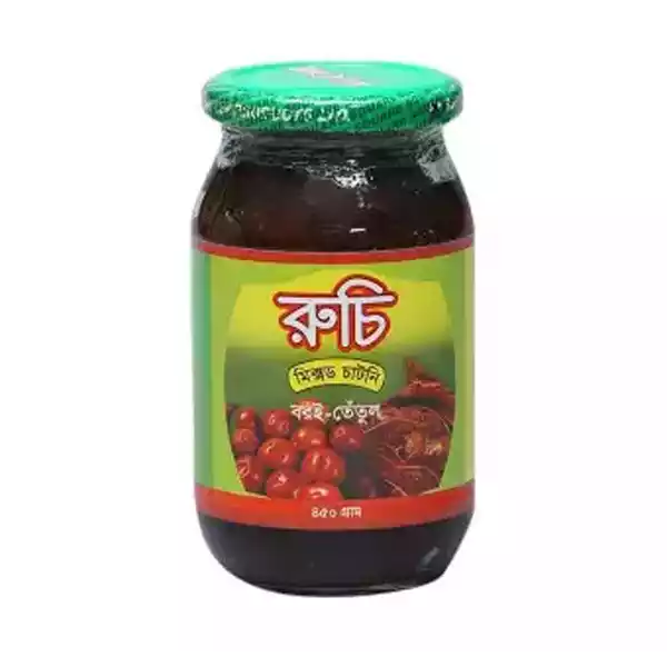 Ruchi Mixed Chutney  (450 gm)