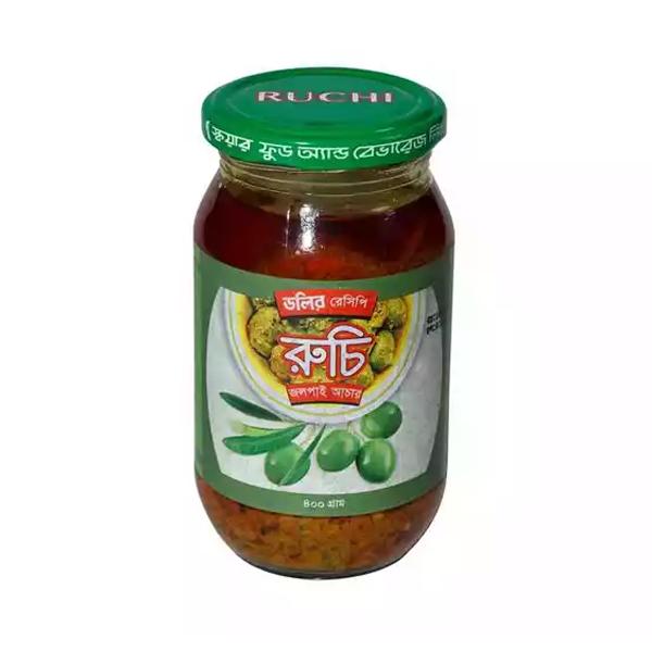 Ruchi Olive Pickle  (400 gm)