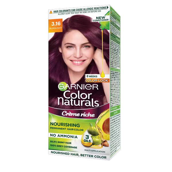Garnier Colour Naturals Cream 3.16 Burgundy Classic (100 ml)