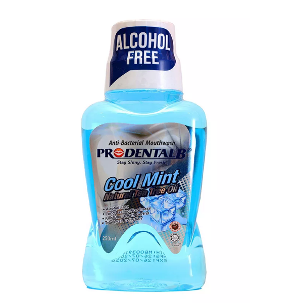 Prodental B Cool mint mouth wash( 250 ml)