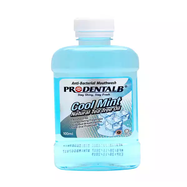 Prodental-B Cool Mint Mouth Wash 100 ml (each)