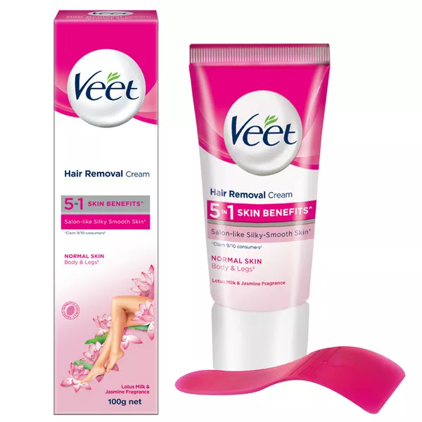 Veet Hair Removal Cream for Normal Skin (100 gm)
