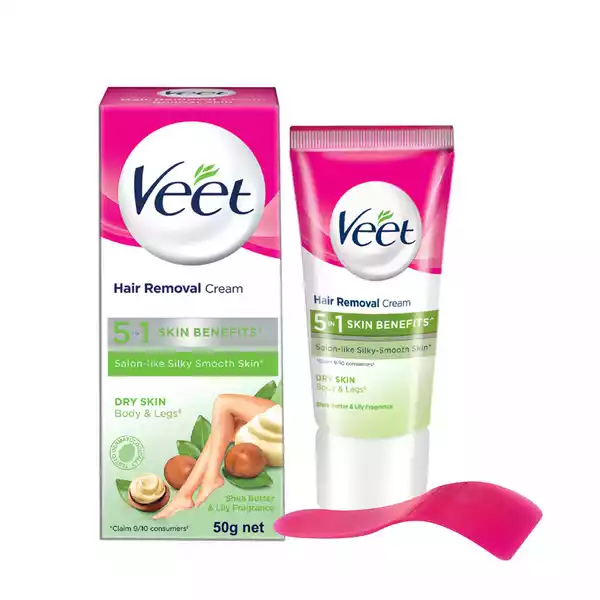 Veet Hair Removal Cream for Dry Skin (50 gm)