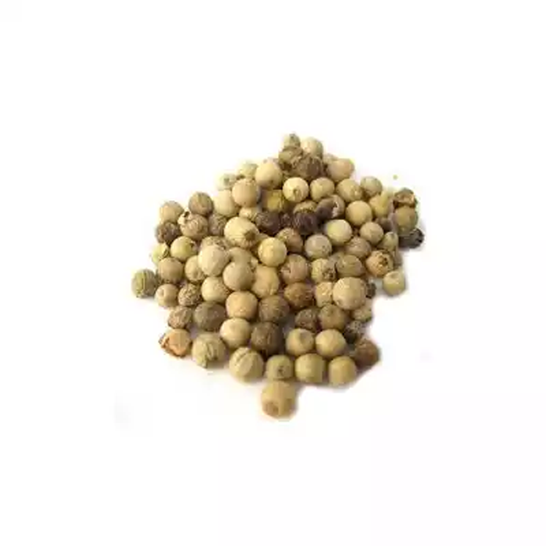 White Pepper Whole (100 gm)
