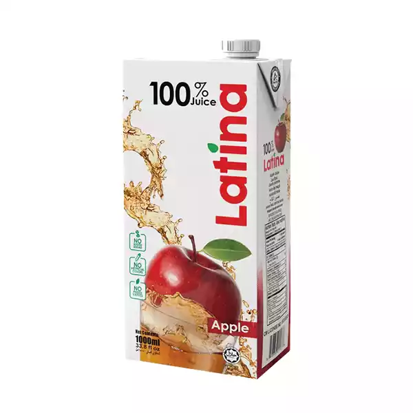 Latina 100 % Juice (Apple) (1 ltr)