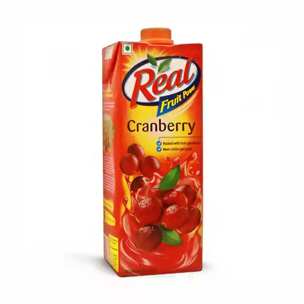 Real Fruit Power Cranberry Juice (1 ltr)