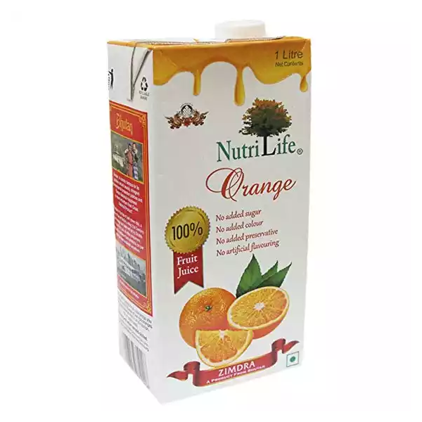 Nutrilife Orange Juice (1 ltr)