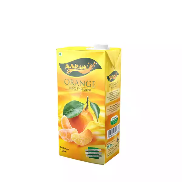 Aaram Juice Orange (1 ltr)