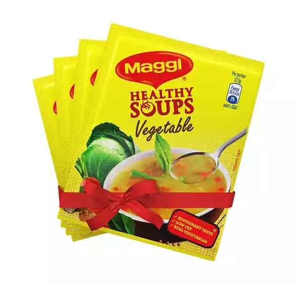 Nestlé MAGGI Healthy Soup Vegetables ( 4 Pcs )