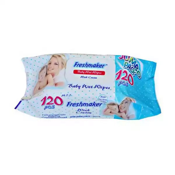 Freshmaker Wet Wipes (120pcs)