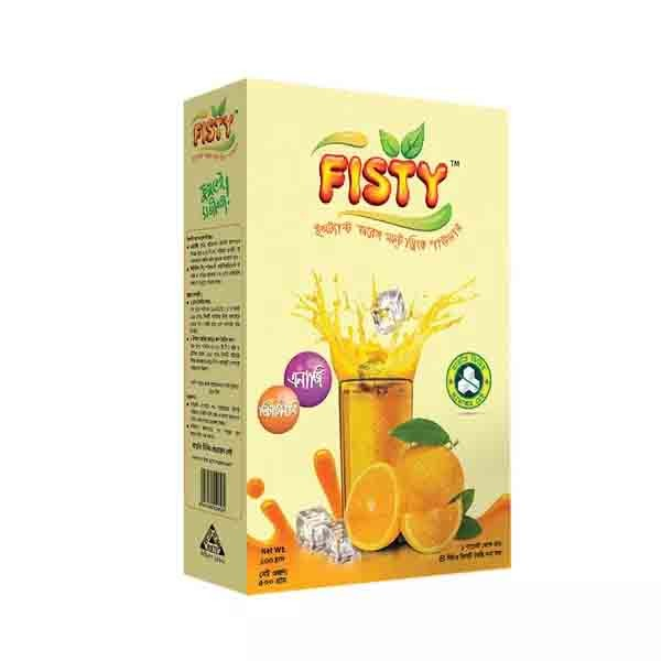 Fisty Instant Powder Drink (Orange) (500 gm)