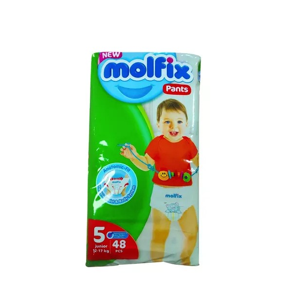 Molfix Baby Diaper Pants 5 Junior 12-17 Kg (48pcs)