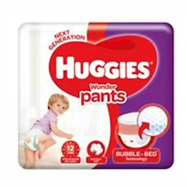 Huggies Baby Diaper WonderPants Pant XL 12-17 kg (38pcs)