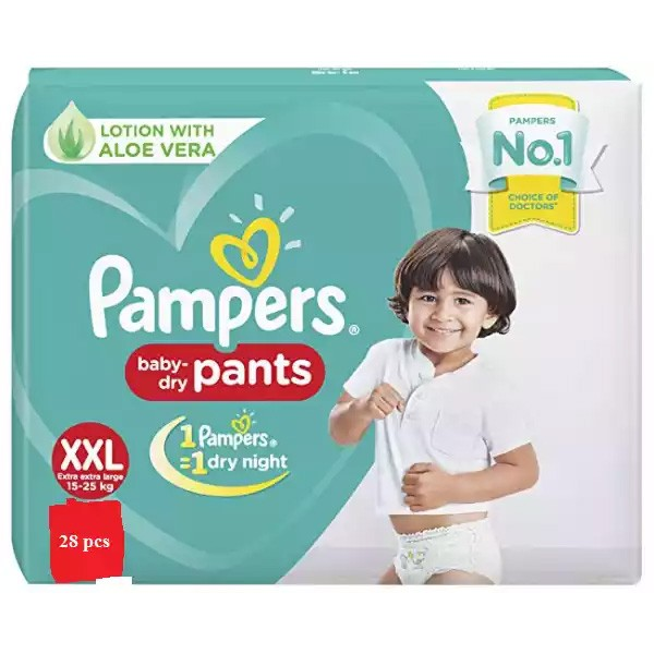 Pampers Baby Dry Pants Diaper Pant XXL 15-25 kg (28pcs)