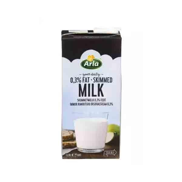 Arla Skimmed 0.3 % UHT Milk (1 ltr)