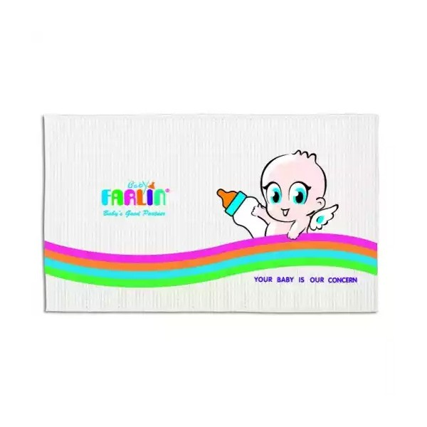 """Farlin Baby Air-Filled Rubber cotsheet White (BF-433) (24""""X36"""") (1pcs)"""