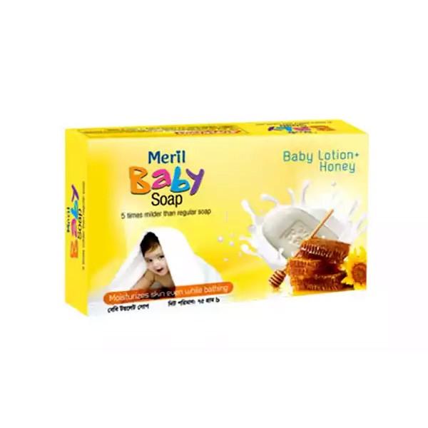 Meril Baby Mild Honey Soap (75gm)